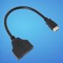 HDMI сплиттер splitter разветвитель на 2 HDMI