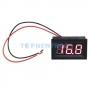 Вольтметр LED 2.5-30V 2 проводной